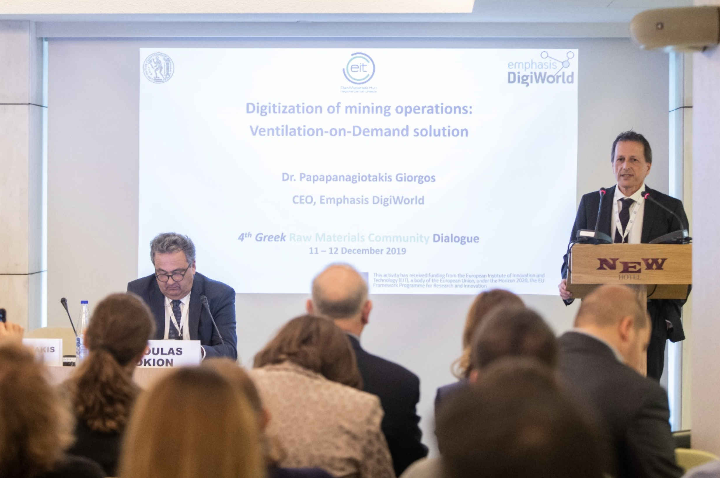 """The """"4th Greek Raw Materials Community Dialogue"""" took place in Athens on 11-12 December 2019."""